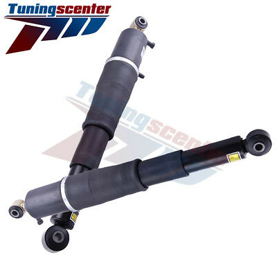 Pair Rear Air Suspension Spring Shocks Fit Chevy GMC Cadillac SUV Replace AS2708