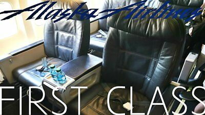 Alaska Airlines First Class Seat Selection