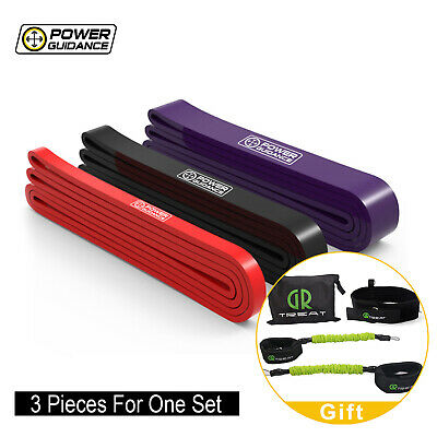 POWER GUIDANCE Pull Up Exercise Bands For Resistance Body Stretching Gifts