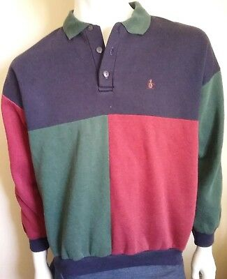 BONDS Original Penguin Shirt vintage mens size 18 / L 100cm pullover jumper