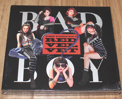 RED VELVET 2ND ALBUM Perfect Velvet Repackage BAD BOY K-POP CD + POSTER IN TUBE