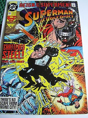 Dc Comics Superman Action Comics Vol 1 # 691 September 1993 Secret Weapon