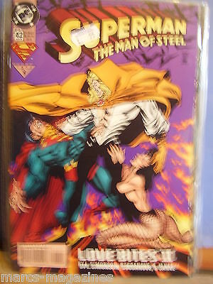 Dc Comics Superman Man Of Steel Vol 1 # 42 March 1995 Lock & Key