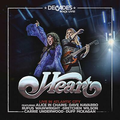 Heart - Live In Atlantic City Cd And Blu Ray