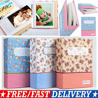 4R 6in 100-Pocket Picture Album Case Photo Storage Hold Baby Wedding Family Memo