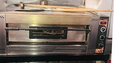 """Italinox Prisma G9 Gas Pizza Oven. Capacity 9 x 12"""" Pizzas. Up to 9 x 12"""" pizzas"""