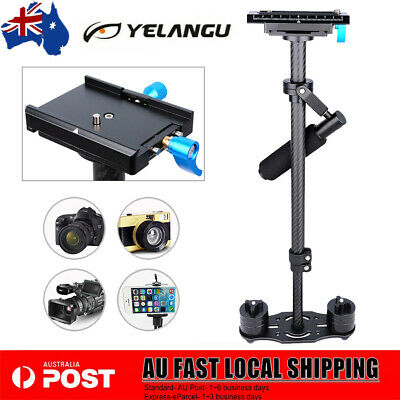 YELANGU S60T Handheld Gimbal W/ Quick Release Plate for DSLR Camera 500-2500g AU