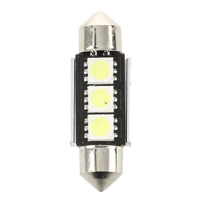 2X(2 SMD 36mm 3 LED Bombilla Interior Festoon Canbus 12V W1G5) EW