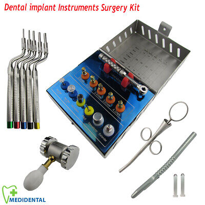 Bone Expander Kit Dental Implant Osteotome Sinus Lift Surgical Surgery instrumen
