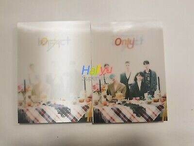 "Imfact ""Only You""  Vol. 3- Autographed(Signed) Promo Album (updated 2-15)"