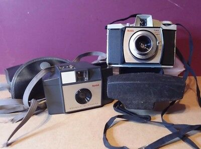 Two brownie cameras - 44A, 127