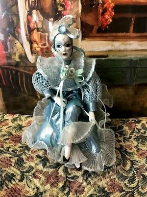 Haunted Possessed Harlequin Clown Doll Haunted Used in Ouija Scares People