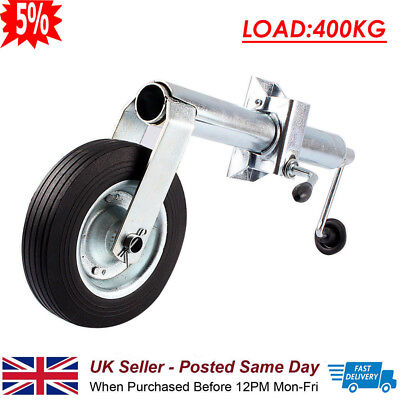 Quality 48Mm Jockey Wheel With Clamp For Trailer Caravan Plant Container 400Kg