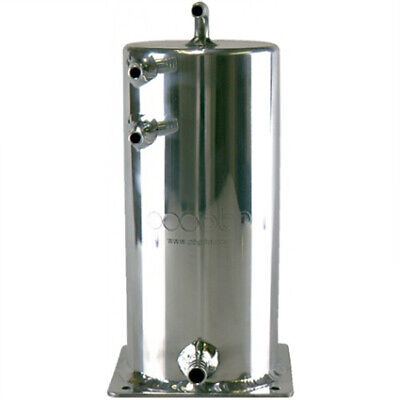 OBP 2ltr Alloy Base Mounted Swirl Pot Polished