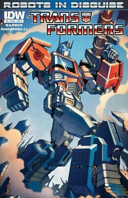 Transformers Robots In Disguise #6  Cover A  Idw  June 2012  N/m  1St Print