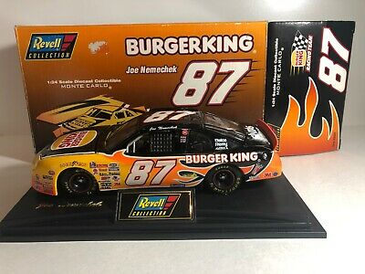 New 1995 Revell 1:24 Diecast NASCAR Joe Nemechek Burger King Chevy Monte Carlo
