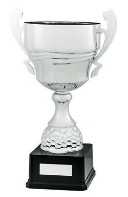 Large Silver Metal Super Cups 4 sizes 360mm to 450mm FREE Engraving