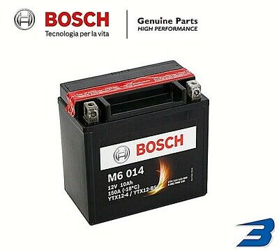 Batteria Honda Fes Foresight 250 1998 1999 2000 2001 2002 2003 Bosch Ytx12-Bs