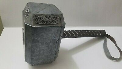 Avengers Thor the Dark World Hammer Mjolnir 1:1Replica Prop Cosplay Light Weight