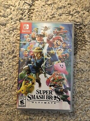 Super Smash Bros. Ultimate Nintendo Switch Game Brand New And Sealed