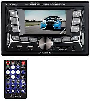 100516 Majestic Autoradio Mechless SV-516 con Monitor 4' BT/RDS/2xUSB/SD/AUX