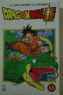 DRAGON BALL SUPER 1  Manga Star Comics Italiano - 10%