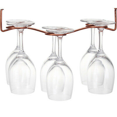 Glass Rack Wine Cup Hanging Upside Down Displayed Goblets Home Bar shan