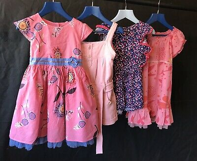 ZARA M&S Girls Spring Summer Dress Playsuit Jumpsuit Bundle Age 3-4 Years