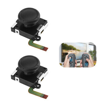 2PCS Replace 3D Stick Rocker Analog Joystick Thumb For Nintendo Switch US S6Z5V
