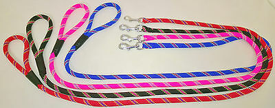 Soft Grip Nylon Rope Style  Lead Dog/ Horse Eqeustrian Approx 1.45 Meters Long~~