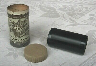 U S Everlasting Phonograph Cylinder Record ~ Popular song ~ Collins & Harlan