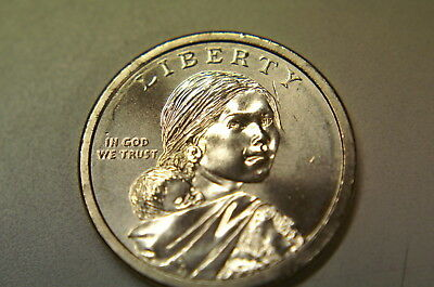 2019-D Bu  Native American Uncirculated  Dollar Here Now Immediate Free Shipping