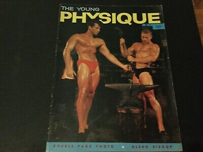 The young physique vintage bodybuilding muscle boys mag 1960's Nr 6 gay interest