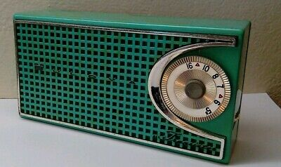 Bulova Transistor Radio Plays Loud And Proud!