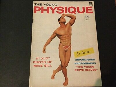 The young physique vintage bodybuilding muscle boys mag 1960's Nr 3 gay interest