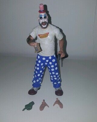 Rare Neca limited CAPTAIN SPAULDING house of 1000 corpses COMPLETE action figure