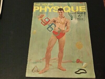 The young physique vintage bodybuilding muscle boys mag 63 vol 4 gay interest