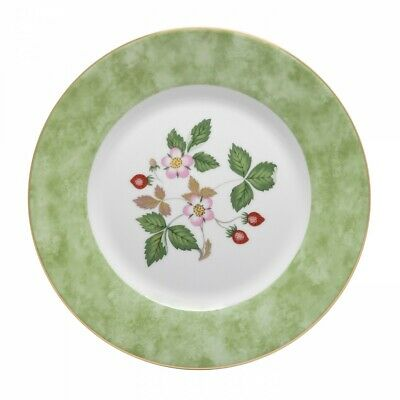 """WEDGWOOD Wild Strawberry Accent Salad Plate 8"""" Set of 4 *NEW*"""