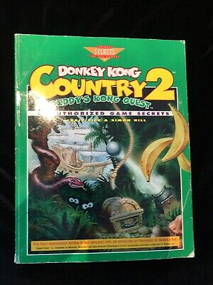 Donkey Kong Country 2 Primas Strategy Guide (Super Nintendo, Snes) Diddys Kong