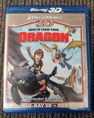 How To Train Your Dragon 3D Blu-Ray + DVD