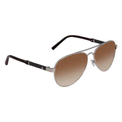 b34c7c597361 MONTBLANC BROWN GRADIENT Aviator Sunglasses MB645S 16F 59 MB645S 16F ...
