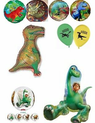 Dinosaurs Helium Balloons Party Ware Decoration Good Dinosaur Novelty Gift Foil