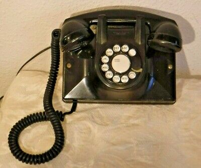 Northern Electric Bakelite Rotary Dial Working Wall Mount & Desk Set Telephone