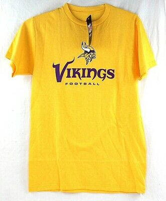 Majestic Minnesota Vikings NFL Football Mens Small Graphic T Shirt Short  Sleeve 26b57512a