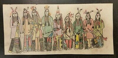ORIGINAL PLANES LEDGER ART - Peace Smokers . Early to mid 1900s. Unsigned.
