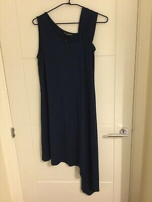 Dark Blue Isabella Oliver Maternity Dress size 3. In slightly used condition