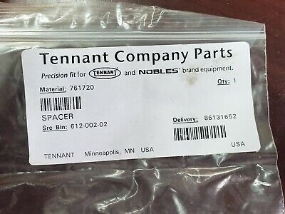Tennant Spacer Part Number 761720