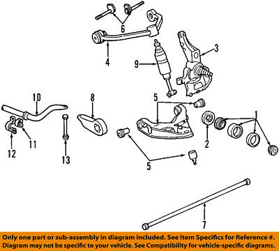 ford oem 01-03 explorer stabilizer sway bar-front-bushings 1l5z5484aa