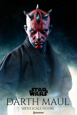 Sideshow Darth Maul Star Wars Duel on Naboo Sixth Scale New Sealed Double Boxed