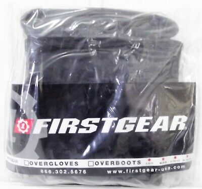 FIRSTGEAR Motorcycle Touring RUBBER OVER GLOVES Rain Black LARGE 510237 GL1800